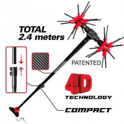 ΕΛΑΙΟΡΑΒΔΙΣΤΙΚΟ x.Quattro CF Compact 2,4m 12VDC